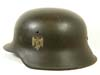 Army M42 single decal combat helmet