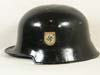 Police re-issued M34 medium duty helmet shell
