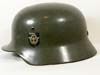 Polizei M35 double decal combat helmet buy Quist