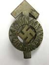 Hitler Youth Sport Proficiency badge in silver