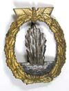 Kriegsmarine Minesweeper badge