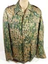 Waffen SS M44 hbt dot pattern camouflage tunic with drillich pants