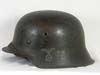 Volkssturm re-issued M42 combat helmet