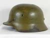 Army M40 combat helmet with tropical camouflage finish by Quist
