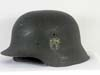Kriegsmarine re-issued M42 single decal combat helmet