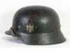 Army M35 double decal combat helmet named