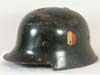 Feuerpolizei M34 civil style double decal helmet