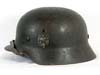 Army  M40 single decal combat helmet