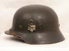 Army M35 double decal combat helmet by NS