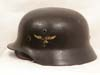 Luftwaffe M35 double decal combat helmet by Quist