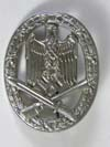 Army/Waffen SS General Assault badge, unmarked