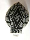 Hitler Youth 1935 donation pin