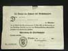 Award document for the Ehrenkreuz f�r Frontk�mpfer dated 1935