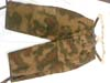 Army camouflage sumpf pattern winter padded long hose