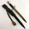 Fireman's dress bayonet with frog and trodel by WKC