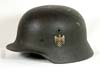 Army re-issued M40 single decal combat helmet