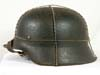 Army M45 combat helmet with wire net