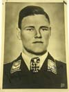 Luftwaffe Swords recipients Joachim Muncheberg signed Photograph Verlag card