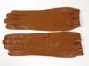 Luftwaffe officer brown leather gauntlet 1938 dated38 gloves