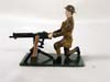 Fusilier Miniatures WW1, Machine Gunner British
