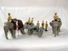 Kingcast  Limited Edition , Set #A12 Br. Elephant Drawn Artillery