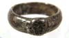 SS Totenkopfring ( Honor Ring ) dated 1943