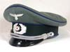 Army Medical officer visor hat ( schirmtutze )