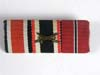 Ribbon bar featuring the Iron Cross 2nd Class