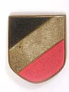 National shield for a pith helmet