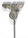 German Metal Early SS SA Member Eagle Stick Pin