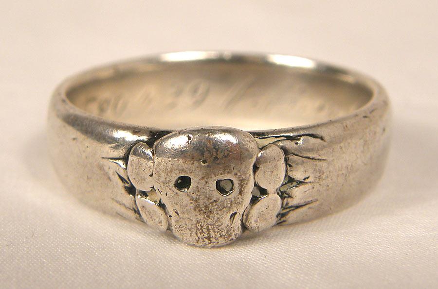 Genuine Totenkopf Ring