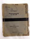 Extremely  rare Luftwaffe Panzer identification book in 3-D
