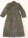 Waffen SS/ Army officer's leather greatcoat