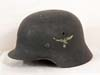 Luftwaffe M40 single decal combat helmet by ET