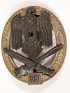 Army /Waffen SS Panzer Assault Badge for 25 engagements by JFS