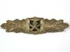 Very Rare Army  / Waffen SS Close Combat Clasp in Gold