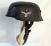 Luftwaffe Fallschirmjager double decal child's helmet
