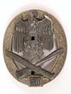 Army Waffen SS 50 Engagements General Assault badge by RK
