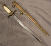 Imperial  Model 1902 Naval dirk with African ivory grip and crown pommel by WKC
