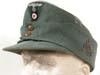 Army  Gebirgsjager ( Mountain ) officer field hat with trapezoid insignia