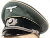 Army Infantry officer visor hat