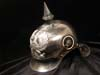 Prussian Curassier enlisted lobster tail spiked helmet by C.E. JUNCKER