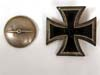 Iron Cross 1st Class, screwback version.