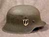 Waffen SS M42 single decal combat helmet by NS