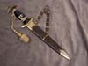 Waffen SS chained officers model 1936 dagger with type II chain and portepee