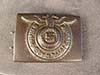 Waffen SS NCO/Enlisted steel belt buckle