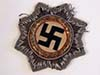 Heer / Waffen SS German Cross in Gold. cloth version