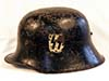 Very rare early Allgemeine SS transitional helmet