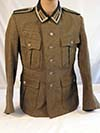 Army Gebirgsjager M-41 enlisted service tunic