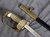 Imperial Navy saber, named to officer Gomaolka., unmarked